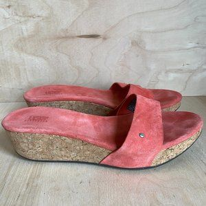 UGG Basil Wedge Women's Size 8 Suede Sandals